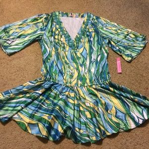 Women's M Medium Rachel Lynn Swim Cover-up NWT